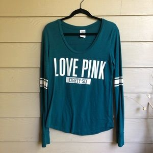 VS PINK Long sleeve T-shirt; M